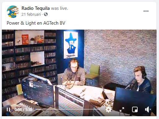 Locquet Power & Light en AGTech BV op Radio Tequila.JPG