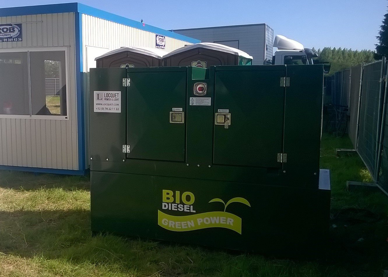 Hybrid power - Generator op biodiesel.jpg