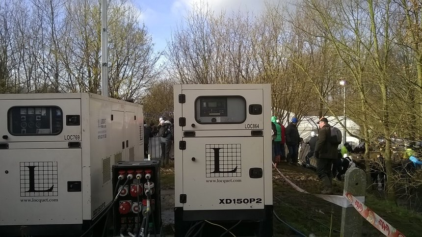 synchroon opstelling 150 kVA