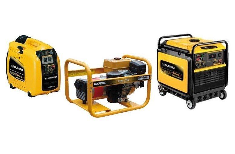 Draagbare generatoren - Portable power - kleine, draagbare stroomgroep op benzine of diesel